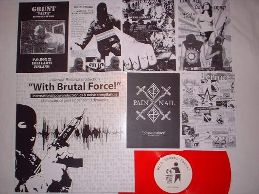 V/A Sampler - With Brutal Force! LP (Lim505)