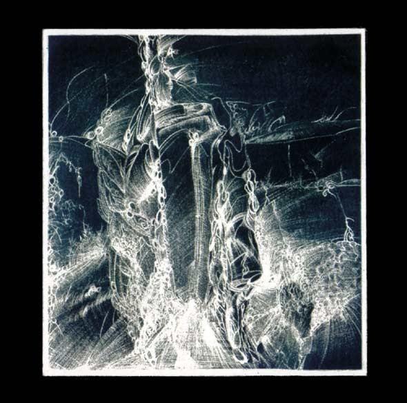 Drape Excrement / Söldnergeist - Black Rider CD (Lim500)