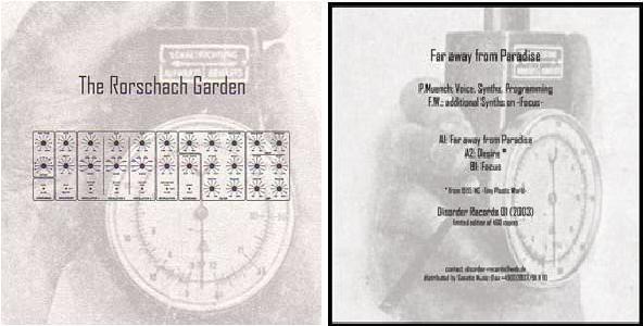 The Rorschach Garden - Far Away From Paradise 7 (Lim300)