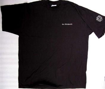 DER BLUTHARSCH - Logo Oakleaves Shirt (silver) XL