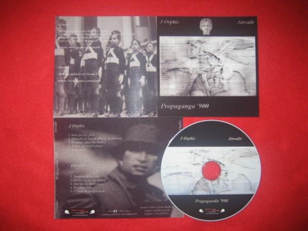J ORPHIC / JÖRVALLR - Propaganda'900 CD (Lim100)