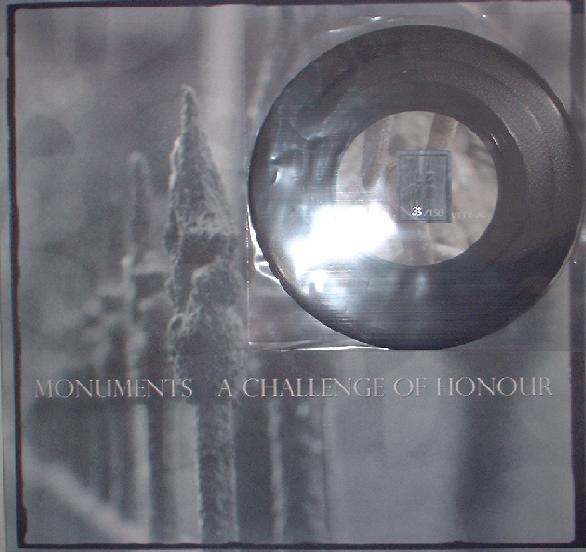 A Challenge Of Honour - Monuments LP+7 (Lim150)
