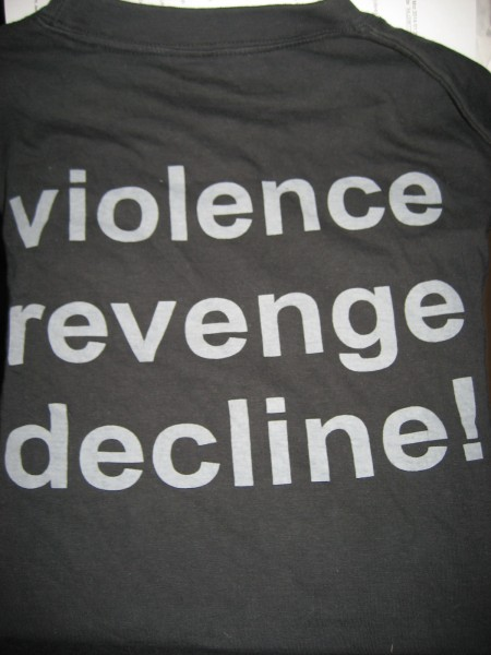 Page 12 - Violence Revenge Decline! Shirt