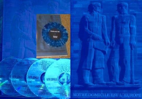 THAGLASZ (Death in June) - Notre Domicile Europe SET BLUE (Lim25
