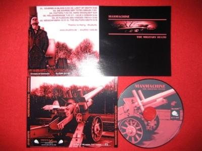 MANMACHINE - The Military Death CDr (Lim100) 2007