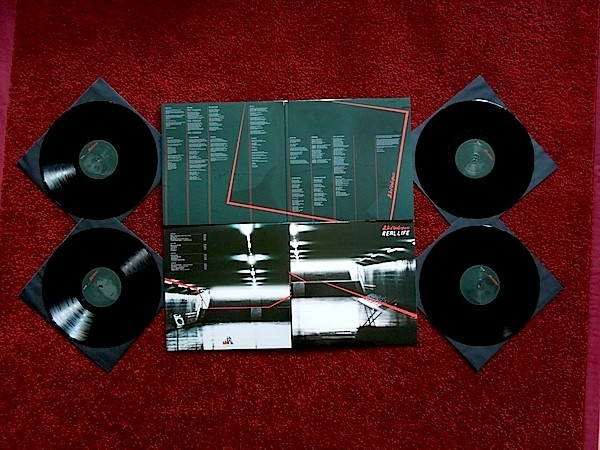 23rd Underpass - Real Life 2xLP (Lim321)