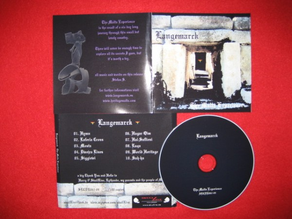 Langemarck - The Malta Experience CD (Lim100)