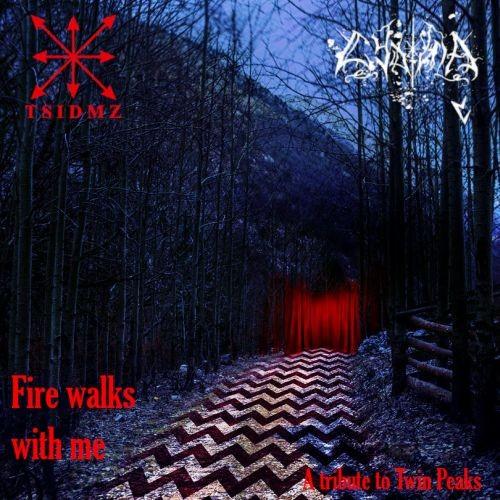 CYDONIA + T.S.I.D.M.Z. - Fire walks with me CDr (Lim100) 4/2021 PRE-ORDER