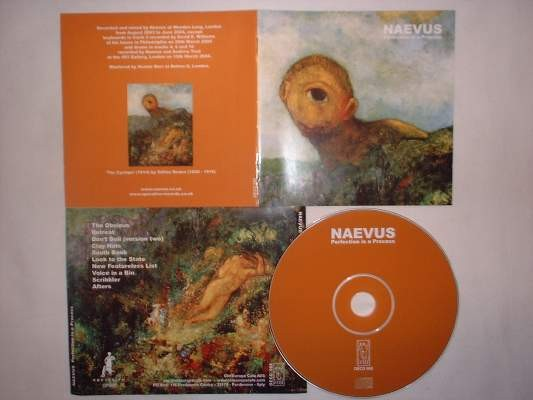 Naevus (John Murphy) - Perfection is a Process CD