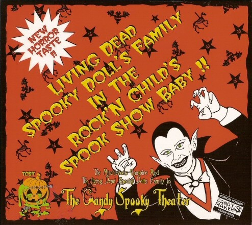 The Candy Spooky Theater - Living Dead Spooky Doll's CD