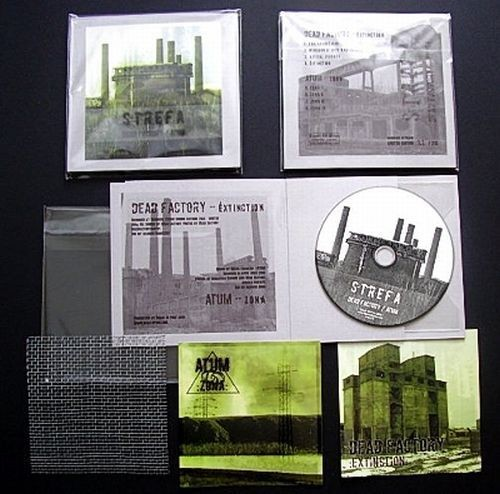 ATUM / Dead Factory - Split CD (Lim213)