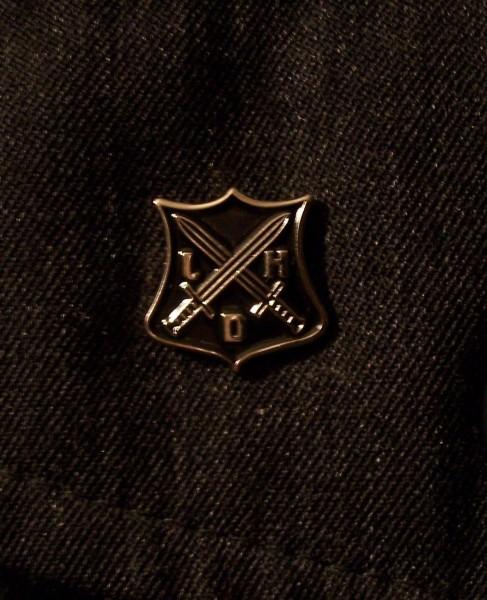 LEGER DES HEILS - Logo PIN (black)