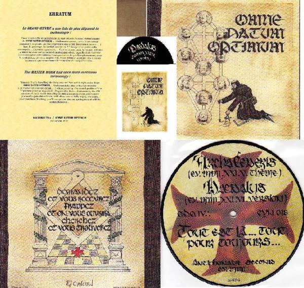 Omne Datum Optimum (Gae Bolg) - Nostre Dame Du... CD+7 (Lim41)