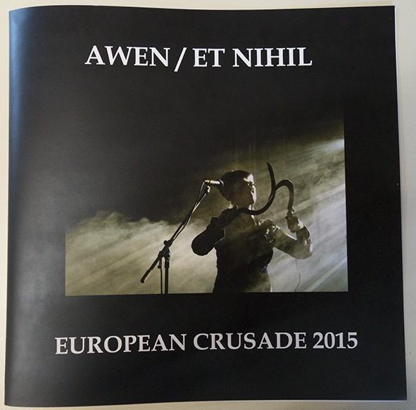 AWEN / ET NIHIL - European Crusade 2015 SET: LP+7 (Lim50) 2016