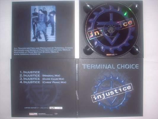 Terminal Choice - Injustice CD (Lim1000)
