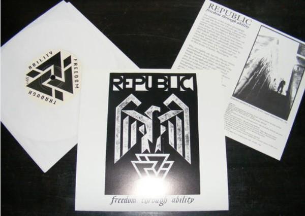 """Republic - Freedom Through Ability 7"""" (1995)"""
