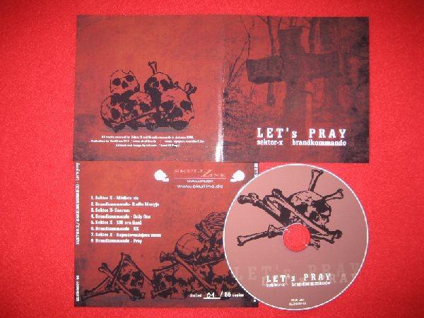 Sektor X / Brandkommando - Let's Pray CD (Lim66)