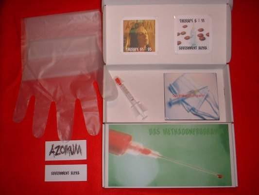 Azoikum / Government Alpha - Das Metadonprogramm BOX (Lim66)