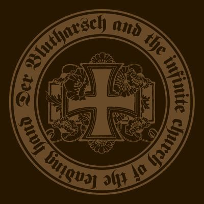 Der Blutharsch & infinite church of the leading hand - Sticker