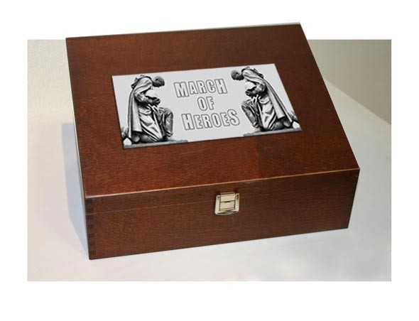 MARCH OF HEROES - La Chute Wooden Box (Lim50)