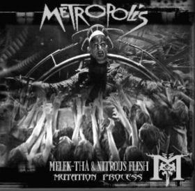 Melek-Tha & Nitrous Flesh - Mutation Process 2CD(Lim100)