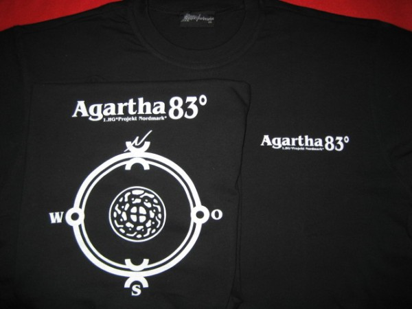 AGARTHA 83° / HAUNEBU IV - Hohlwelt Expedition SHIRT (Lim100)