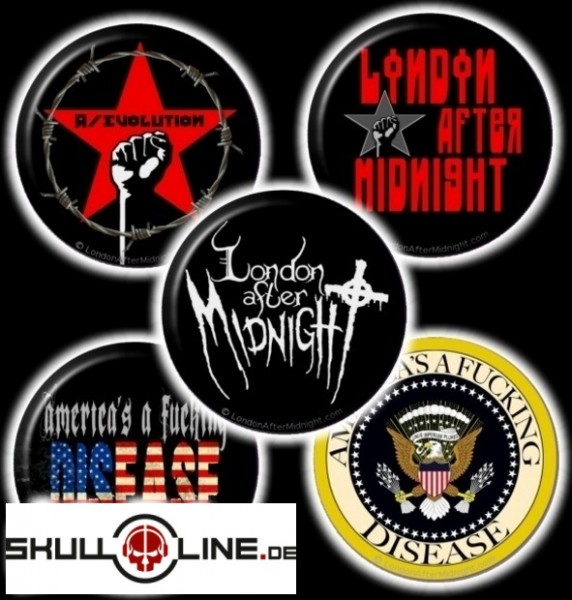 London After Midnight - Button Set (5 Pin)