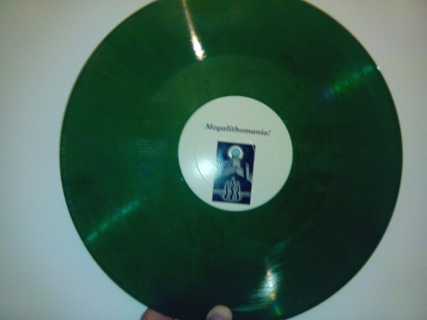 COIL - Megalithomania! dark green LP (Lim50)