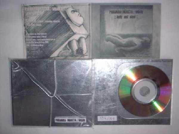 Paranoia Inducta / Moan - Body and Steel CD (Lim155)