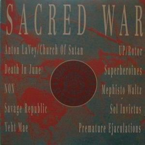 V/A Sampler - Sacred War CD (1990)
