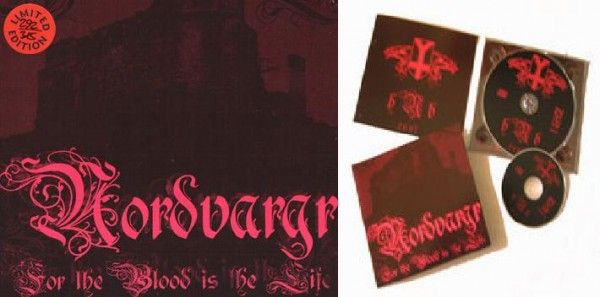 Nordvargr - For The Blood Is The Life SET (Lim315)
