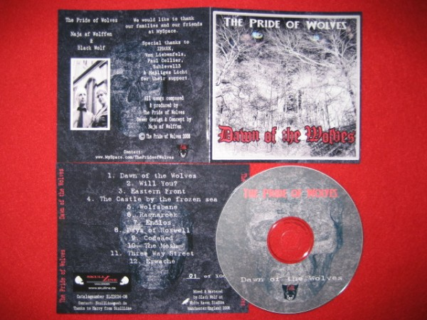 The Pride of Wolves - Dawn of the Wolves CD (Lim100)