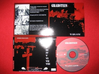 GRABSTEIN - Wargasm (2nd Lim50)