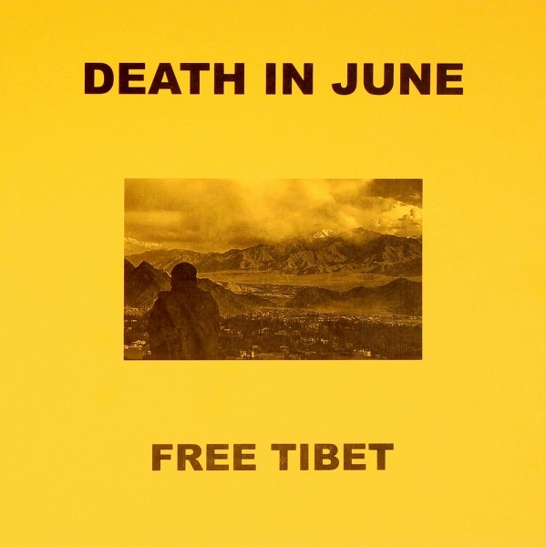 DEATH IN JUNE - Free Tibet Yello LP (Lim50)