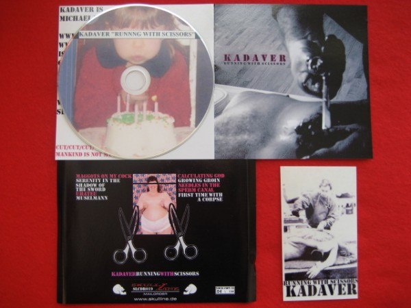 KADAVER - Running with scissors CDr (Lim150) 2008