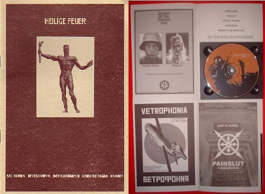 V/A Sampler - Heilige Feuer I CD (Lim1500)