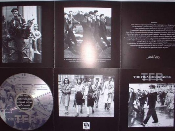Rasthof Dachau / Stahlwerk 9 - The Final Resistance CD (Lim150)