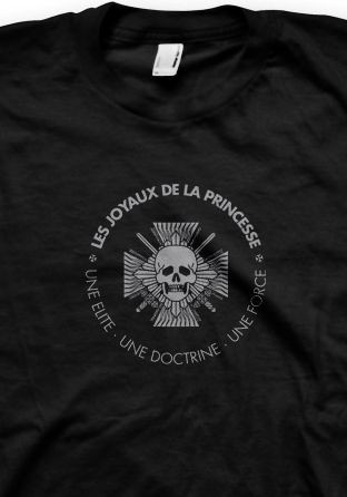 Les Joyaux De La Princesse - Une Elite:Une Doctrine black SHIRT