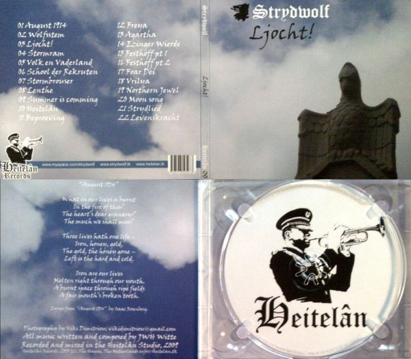 STRYDWOLF - Ljocht! Digi CD 2009 (Lim500)