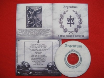 Argentum - A new Rome is coming CD (Lim100)