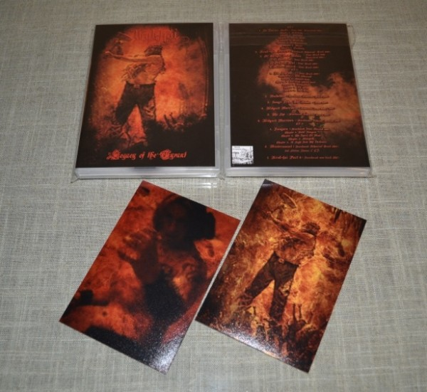 URUK-HAI - Legacy of the Tyrant 4CD Box (Lim20)