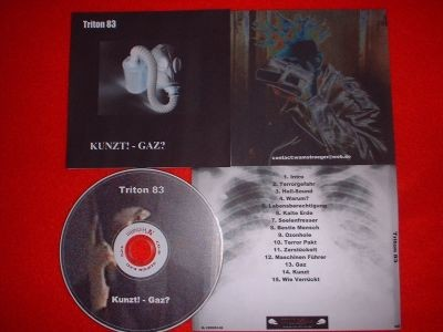 Triton 83 - Kunzt!-Gaz? CD (Lim100)