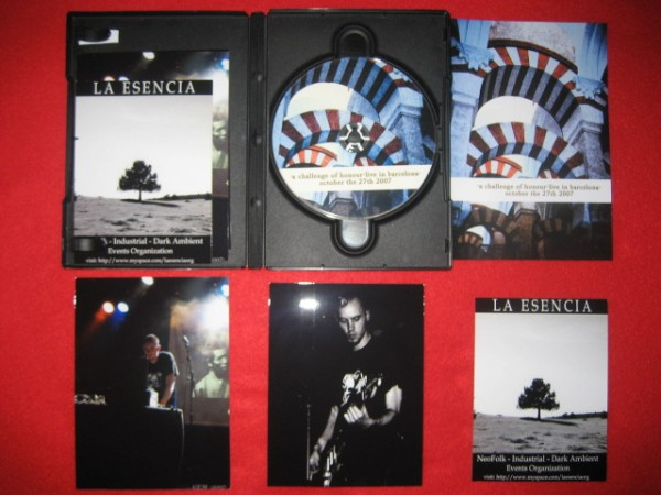A Challenge Of Honour - Live In Barcelona CD (Lim200)