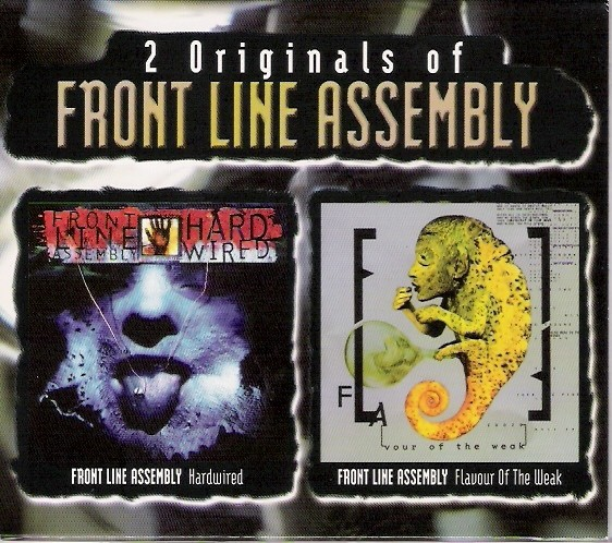 Front Line Assembly - 2 Originals: Hard Wired / Flavour 2CD-Box