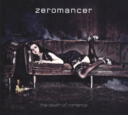 Zeromancer – The Death Of Romance CD (2010)