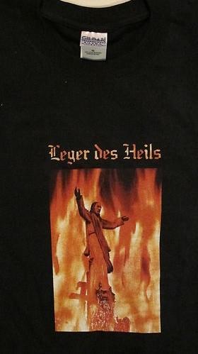 LEGER DES HEILS - Himmlische Feuer Shirt (2004)