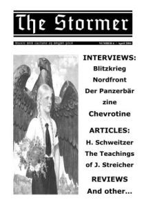 THE STORMER zine - issue 6 (BIG A4)