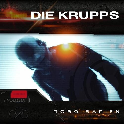 "DIE KRUPPS - Robo Sapien 12"" BLUE VINYL 2015 LTD.500"