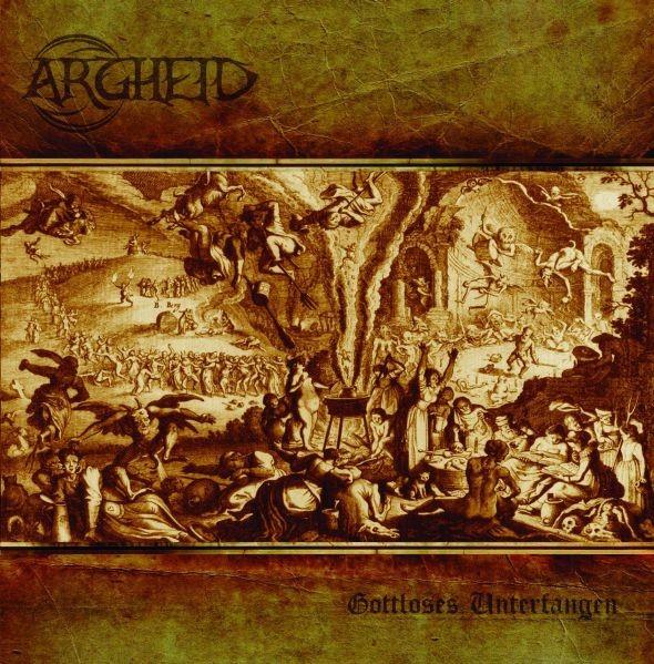 ARGHEID - Gottloses Unterfangen CD (Lim400)
