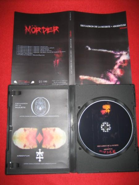 ARGENTUM + Escuadron De La Muerte - Moerder CD (Lim100)